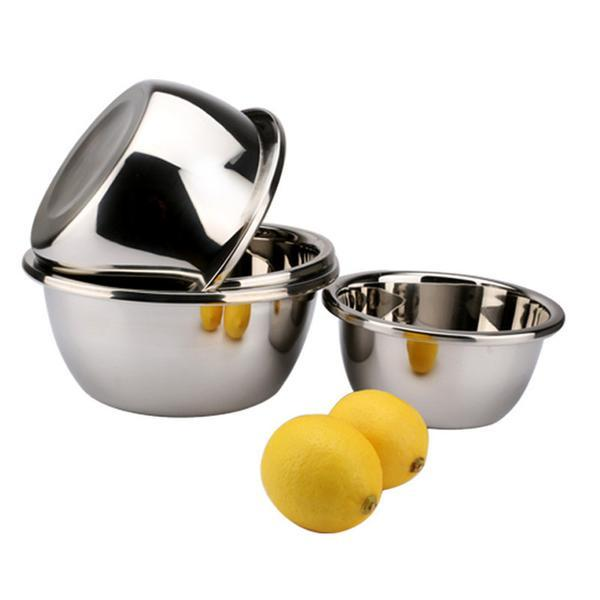 Multifunctional Stainless Steel Mixing Bowls