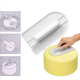 Plastic Cake Smoother, Polisher
