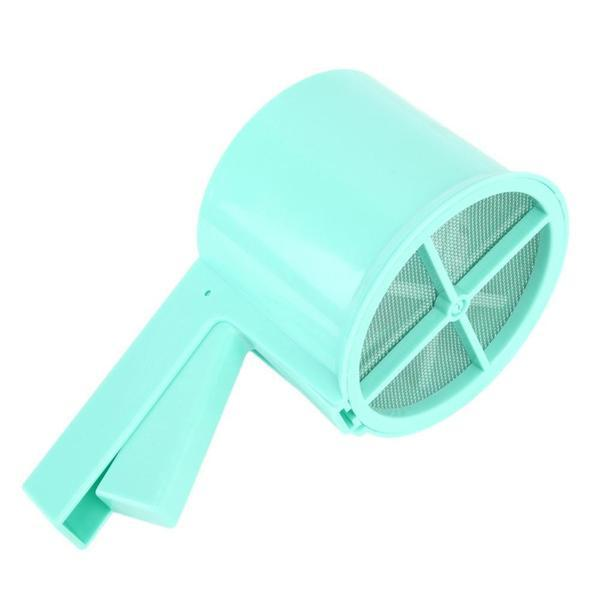 Plastic Mesh Flour Sifter Cup with Sieve Filter