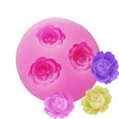 Rose flower Cake mold