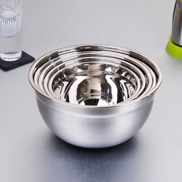 Stainless Steel Egg Beating Pan/Mixing Bowl/Kneading Basin Fermentation Pot Tools