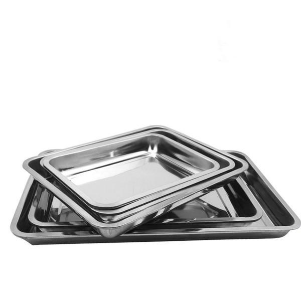 Stainless Steel Baking Sheet Non-Stick Cookie Pan