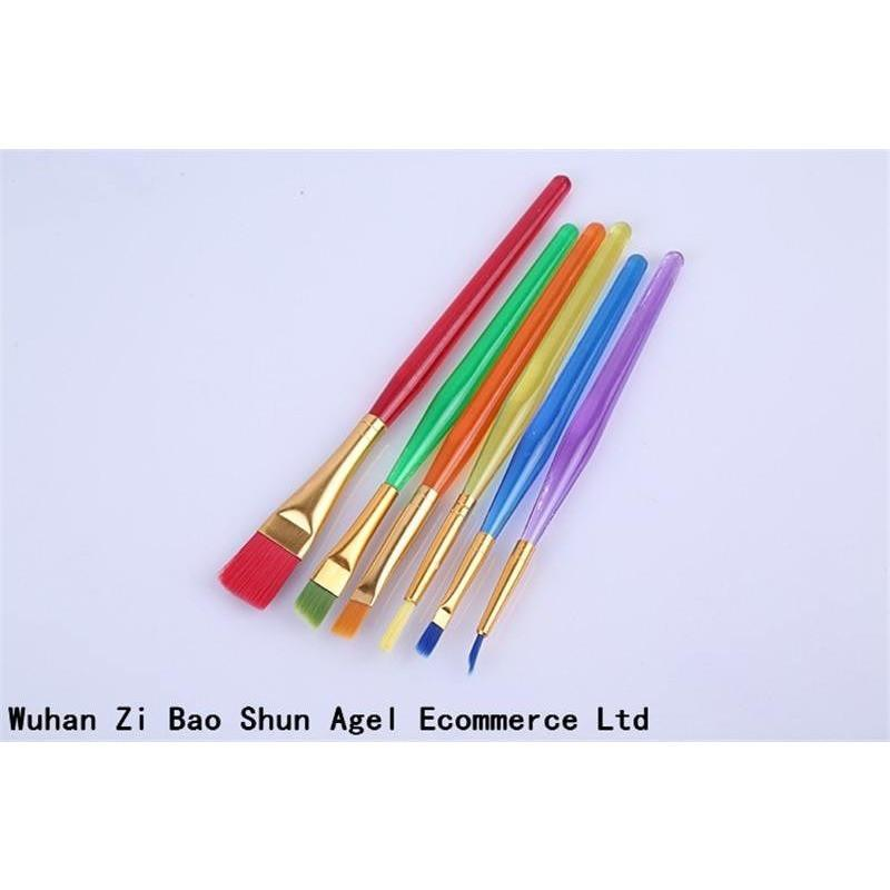 6pcs/set - Fondant Cake Decorating Painting Dusting Brushes set