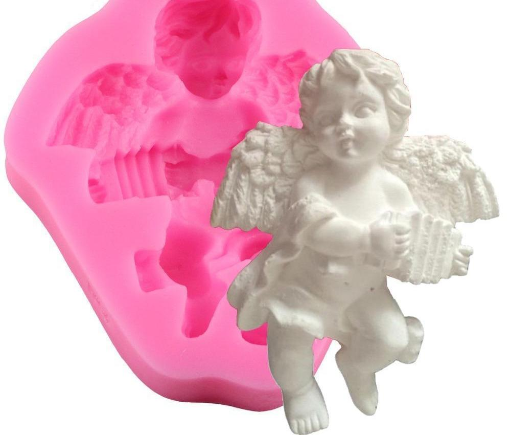 Angel Boy 3D Chocolate Silicone Mold