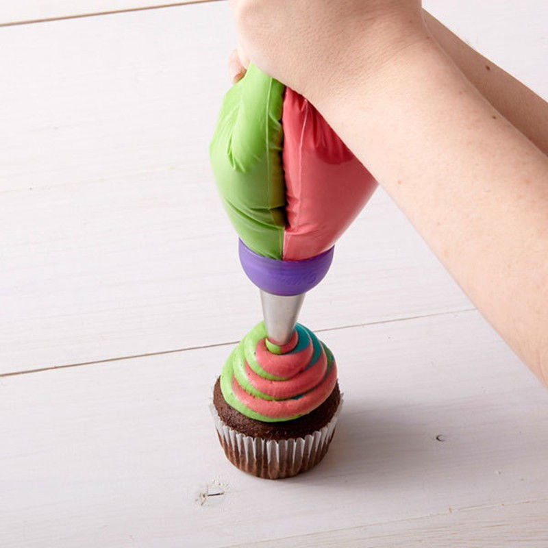Tri-Color Icing Coupler Decorating Tools