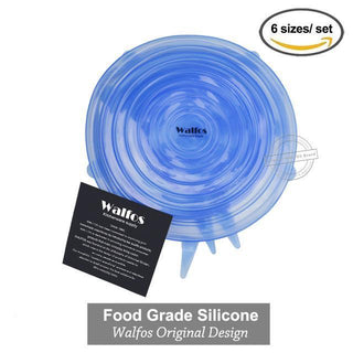 BPA FREE REAL Silicon Stretch Lids