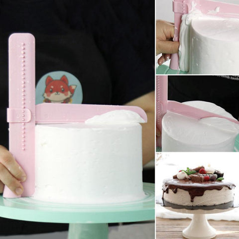 Authentic Adjustable Cake Smoother