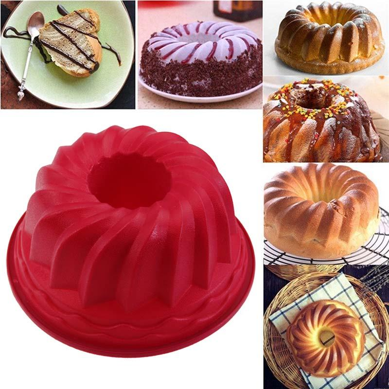 9 inch Spiral Silicone Cake Mold