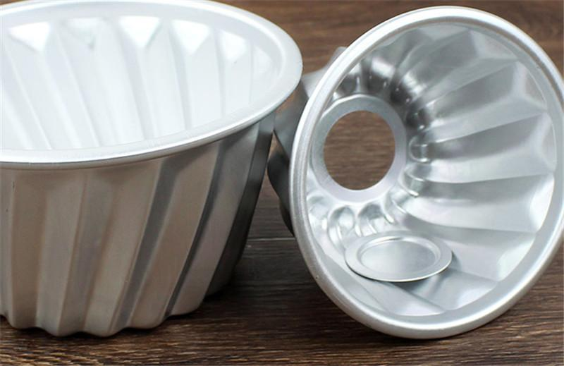 4inch Aluminum Mini Savarin Cake Pan