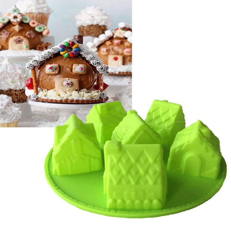 Gingerbread House Baking Mold Tray