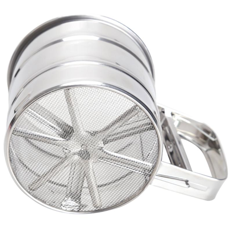 Stainless Steel Mesh Flour Sifter