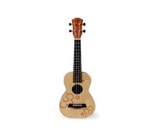Concert Ukulele Spruce 23 inches Beginner Hawaii Guitar with Gig Bag