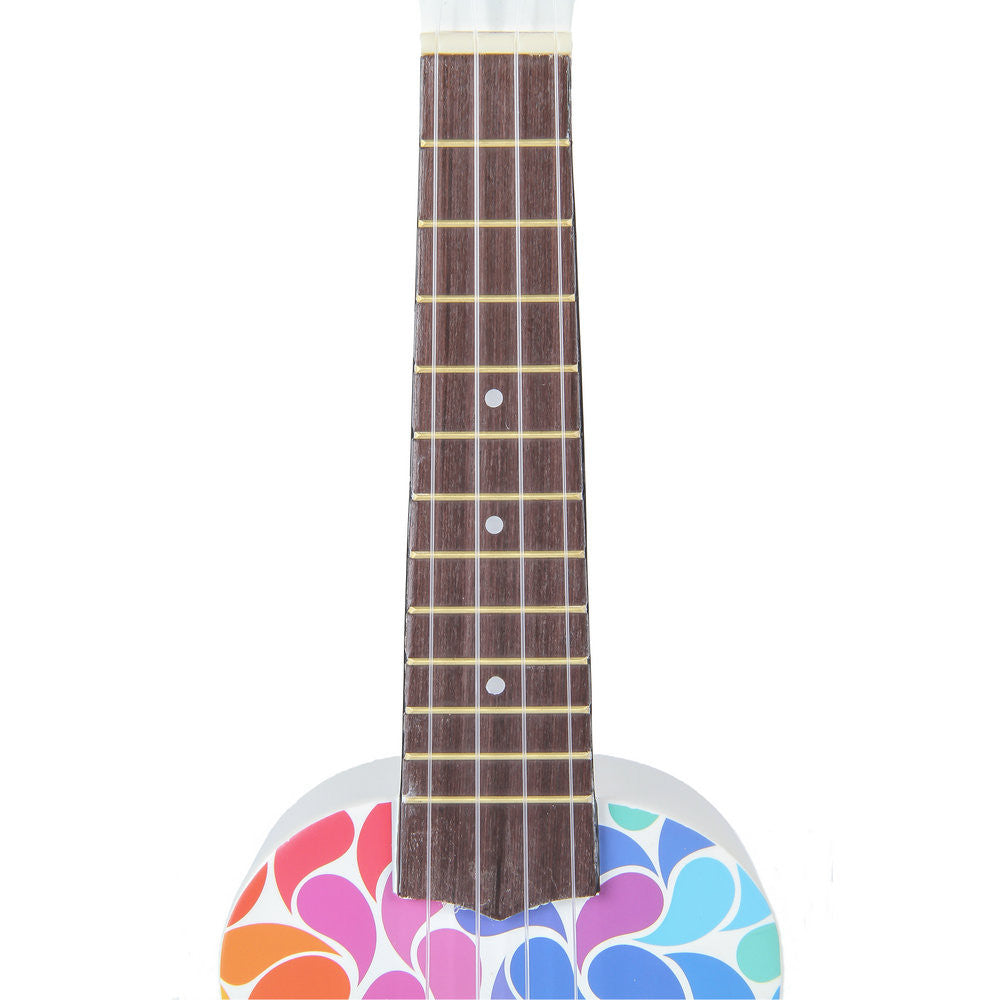 ukulele Soprano Ukulele Colorful Painting Hawaii Guitar 21 inch Gift for Beginner