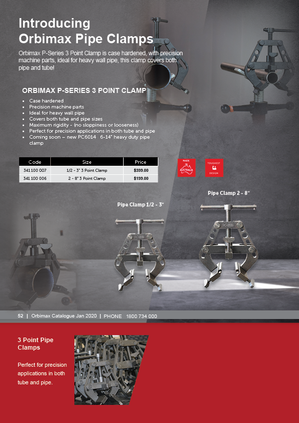 Orbimax Catalogue Orbital Welding Equipment