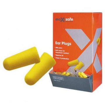 Earplugs - Maxisafe Tapered - SFI Orbimax