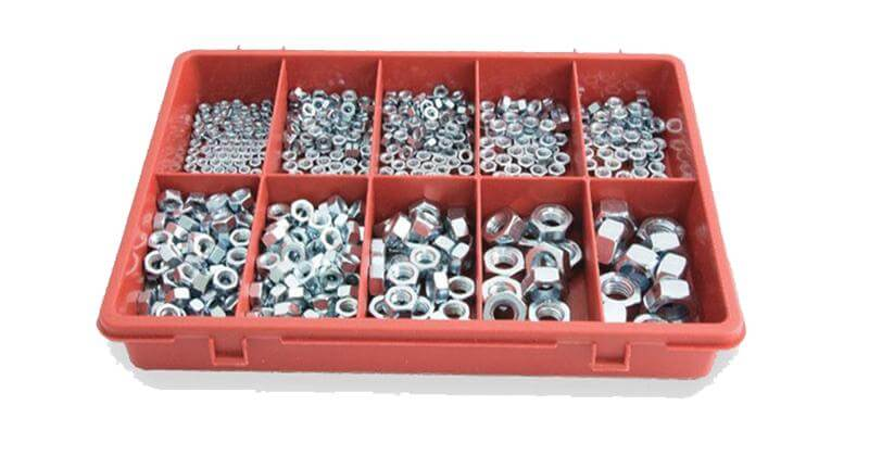 Hex Nuts Assortment Pack 650pce | SFI Orbimax