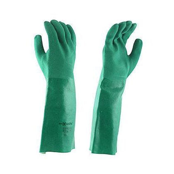 Long Green Chemical Gloves - SFI Orbimax