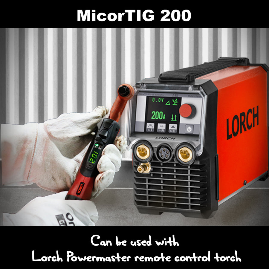 Lorch TIG Powermaster Digital Torch 8m or 16m | SFI Orbimax