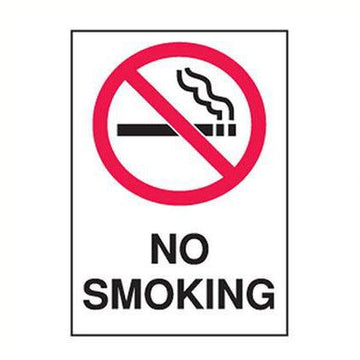 No Smoking Safety Sign - SFI Orbimax