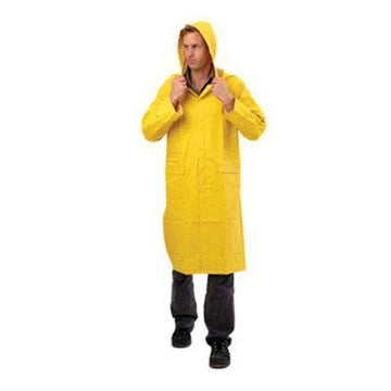 PVC Rain Coat - Yellow - SFI Orbimax