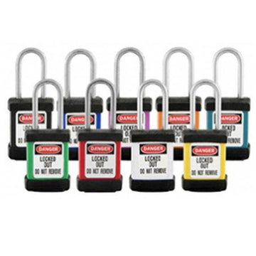 Steel Safety Padlocks With Cover | SFI Orbimax