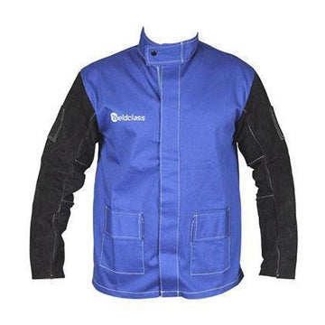 MAX Safety Welding Jacket Blue - SFI Orbimax