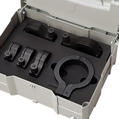 Orbimax Cutting Block supplied in a genuine Systainer case with foam insert