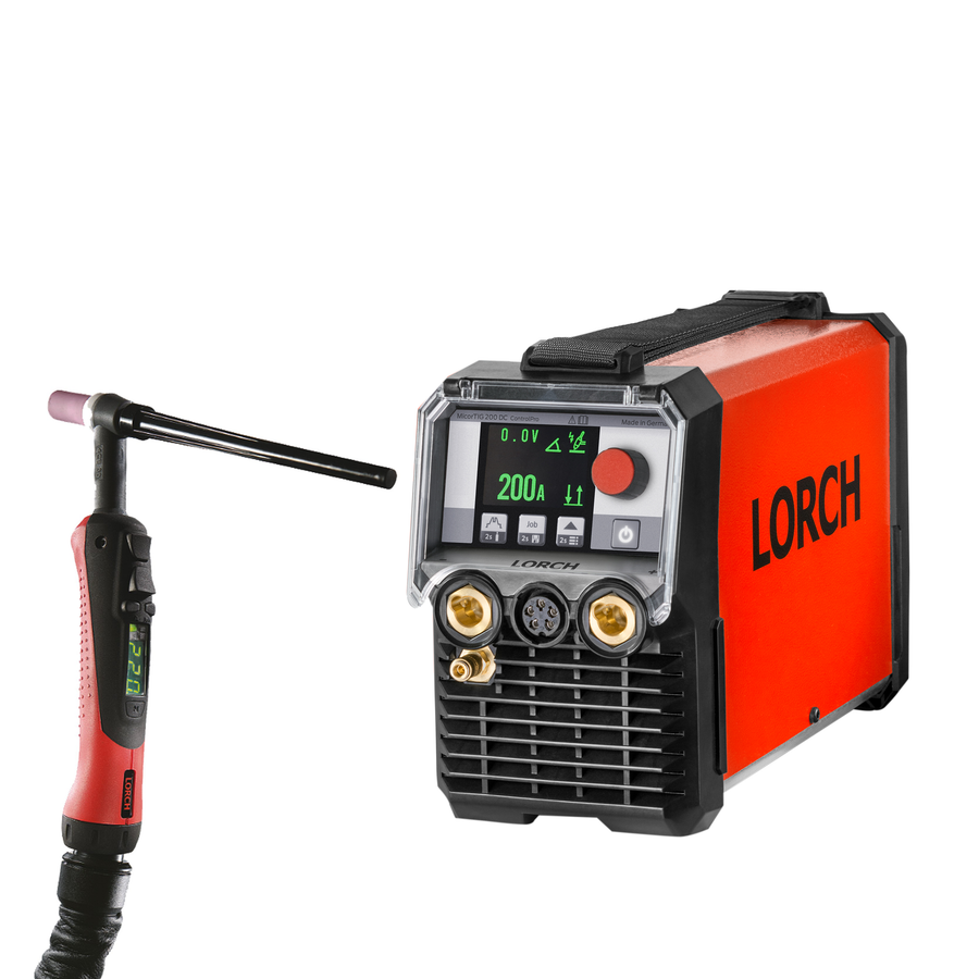 Lorch MicorTIG 200 Control Pro with 16m Digital torch
