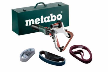 Metabo 240V Tube Belt Sander Kit RBE 15-180 SET