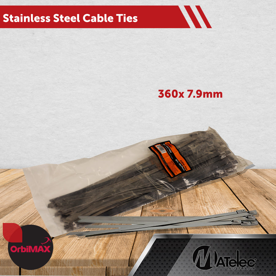Stainless Steel Cable Ties  360MMX7.9MM