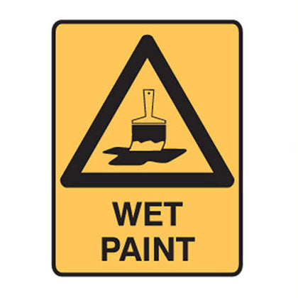 Wet Paint Safety Sign - SFI Orbimax