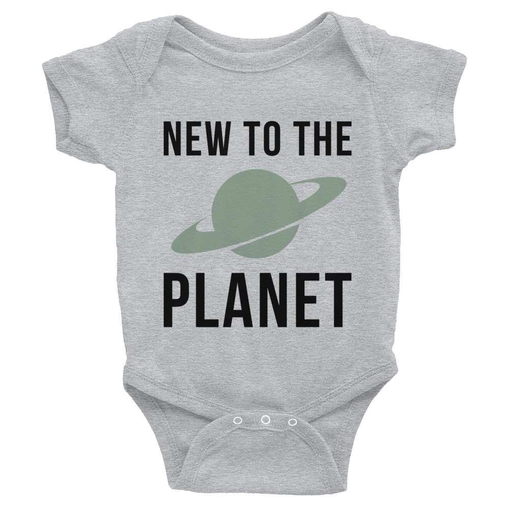 New To The Planet Onsie