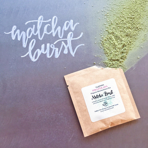Three 6 Tea Pina Colada Matcha Burst