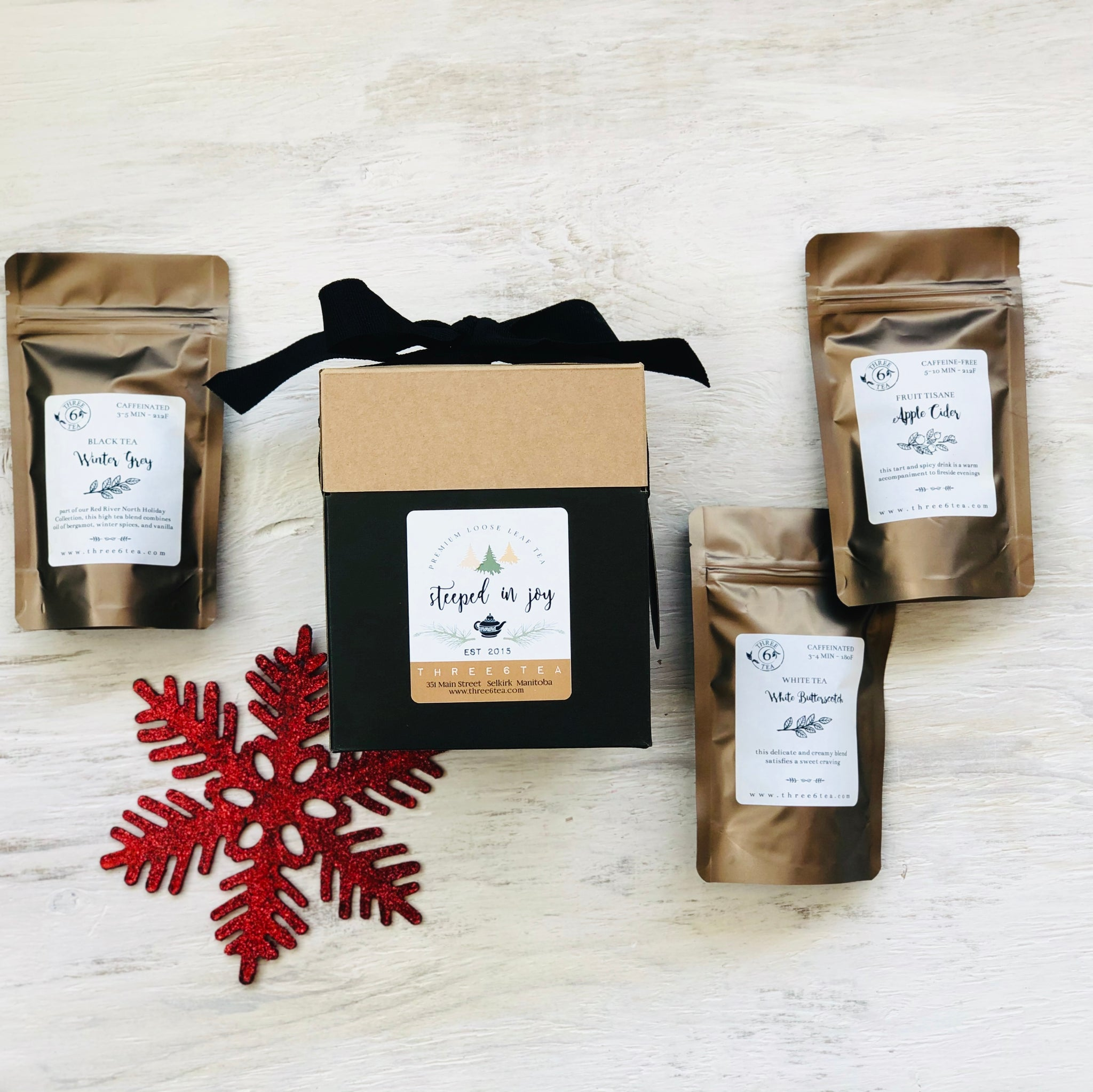 Three 6 Tea - 3 Tea Gift Set
