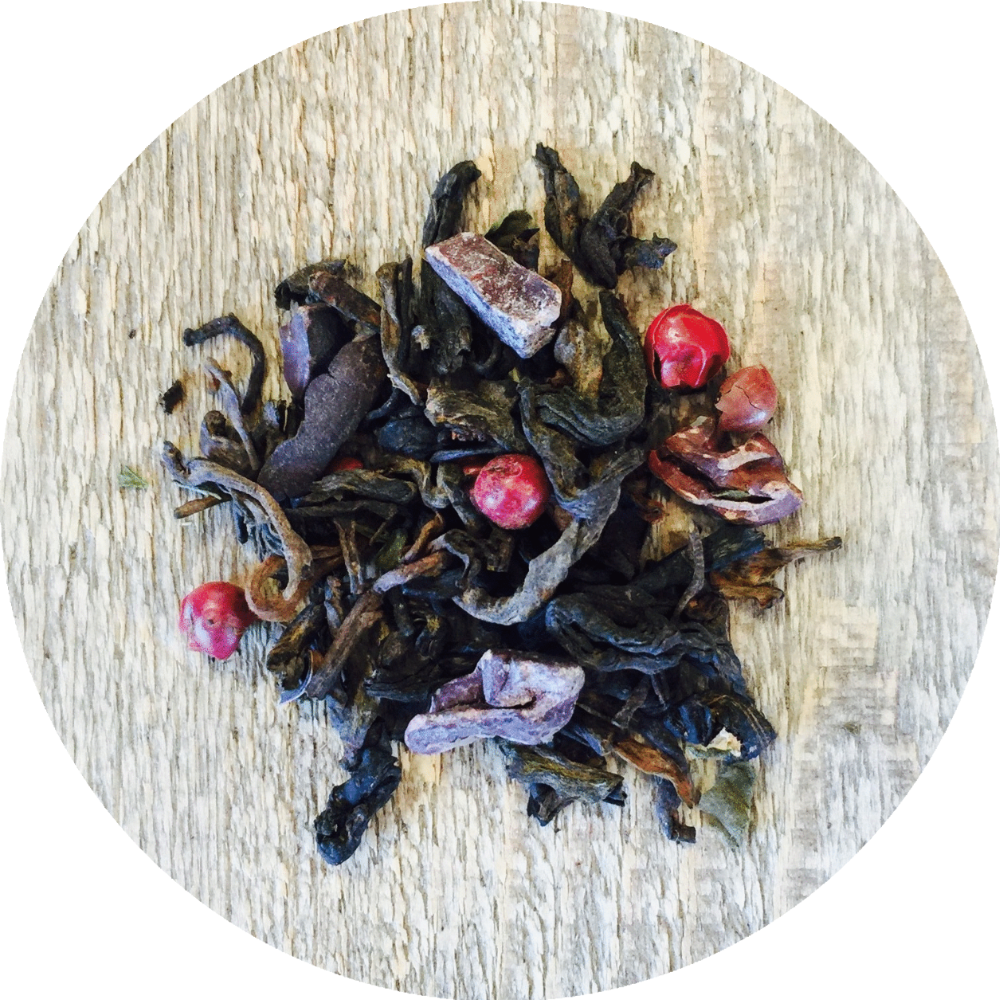 Three 6 Tea - Dark Chocolate Peppermint - Pu-erh Tea