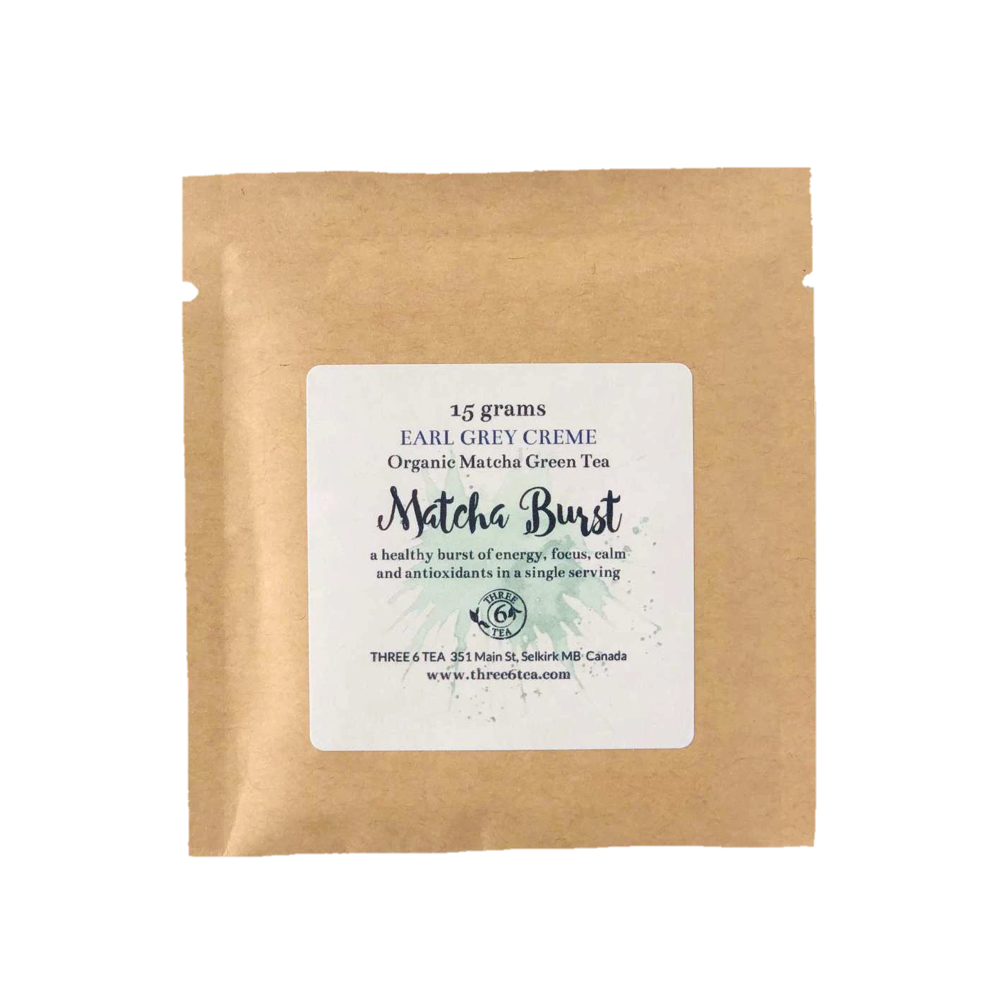 Three 6 Tea - Earl Grey Creme Matcha Burst