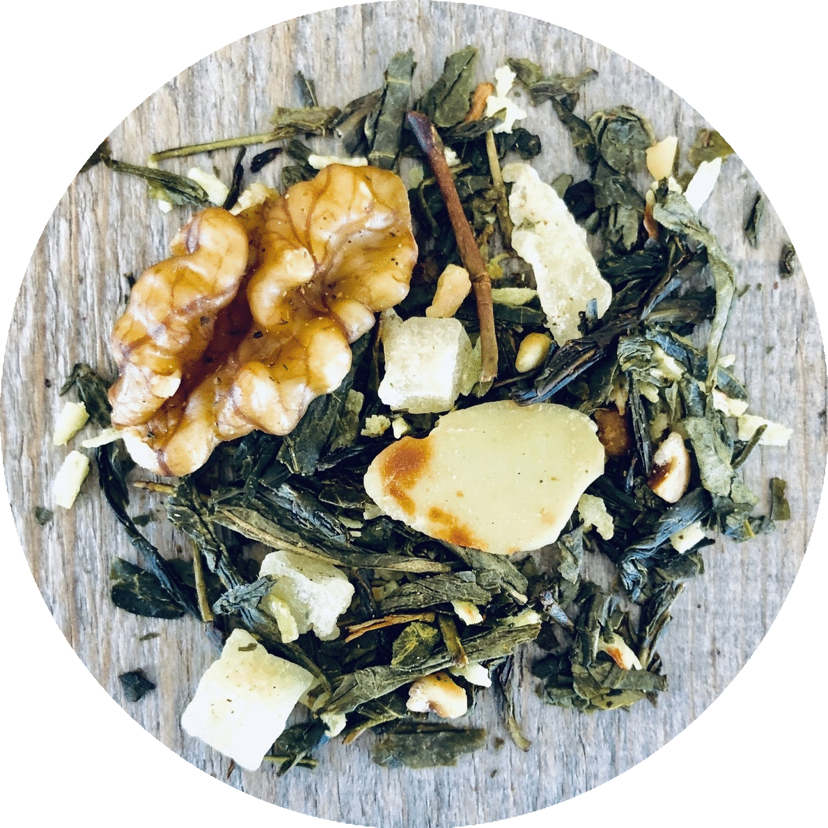 Three 6 Tea - Nut Brittle - Green Tea