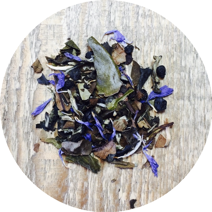 Three 6 Tea - Organic Blueberry White - White Tea