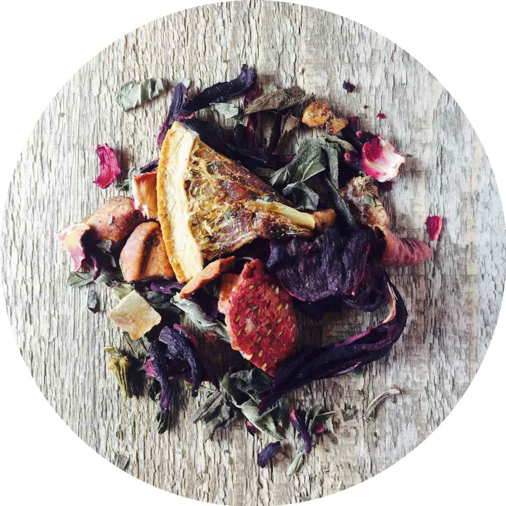 Three 6 Tea - Strawberry Mint - Fruit Tisane