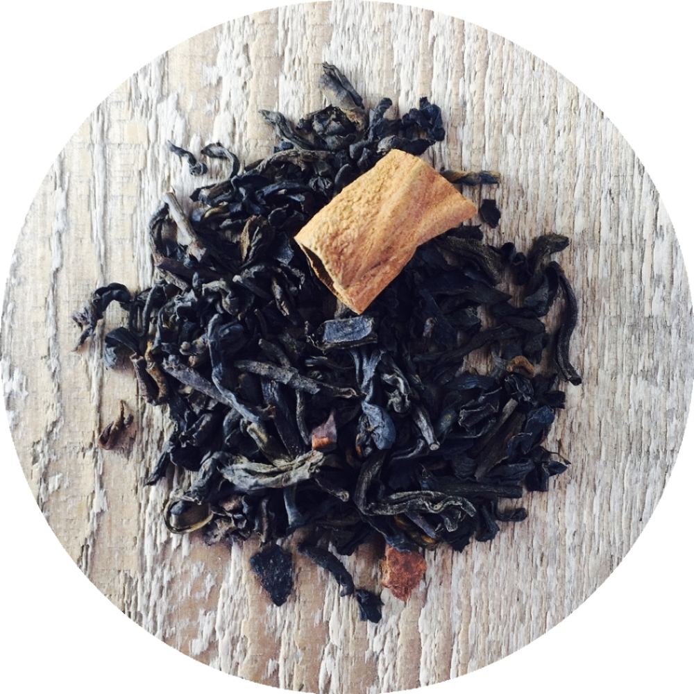 Three 6 Tea - Organic Sweet Cinnamon - Pu-erh Tea