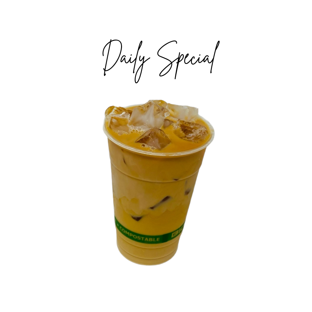 Iced Tea Latte Daily Special
