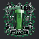 Shamrock Pub Luck Of The Irish t shirt