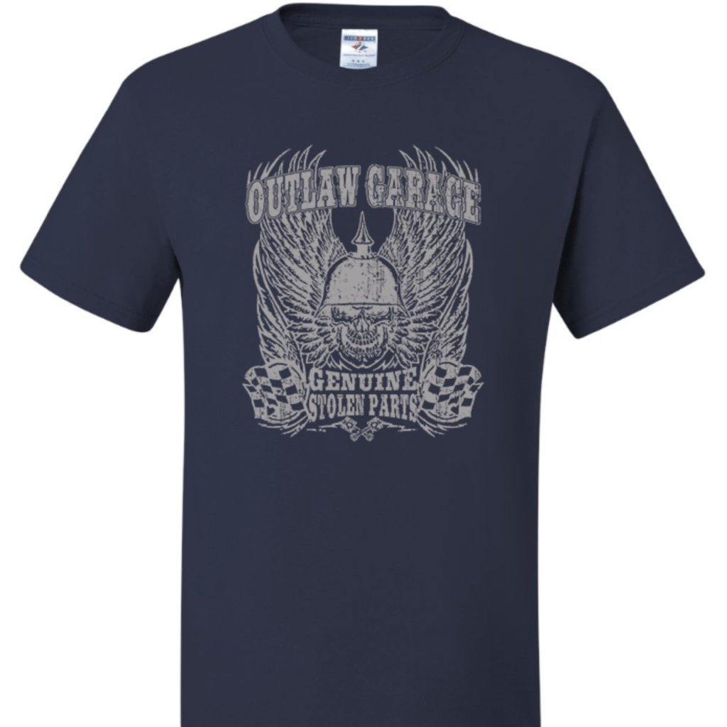 Outlaw Garage T Shirt Short Sleeve T-Shirt Calico Ink