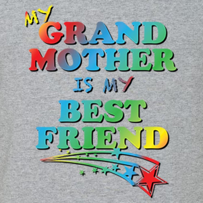 My Grand Mother Is My Bestfriend, [product_type} - Calico_Ink