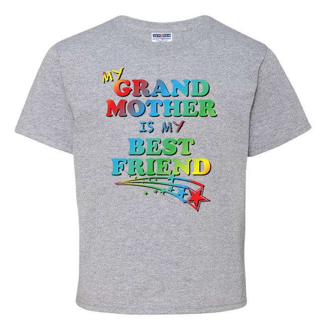 My Grand Mother Is My Bestfriend T Shirt Youth T-Shirt Calico Ink