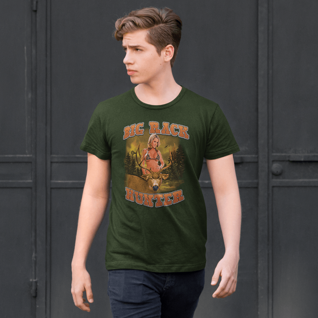 Big Rack Hunter T Shirt Design Your Own Personalized T Shirts