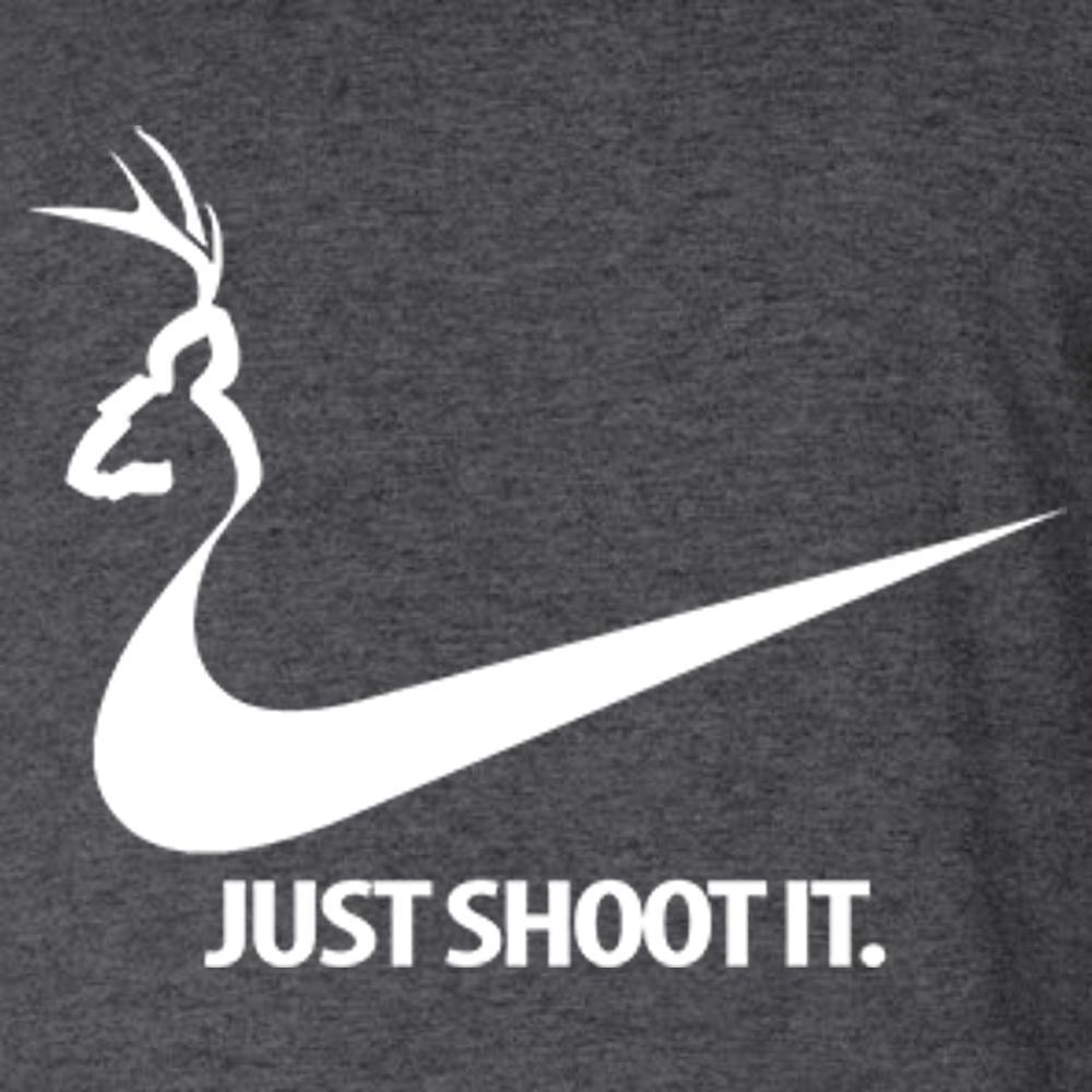 Deer - Just Shoot It T Shirt Short Sleeve T-Shirt Calico Ink
