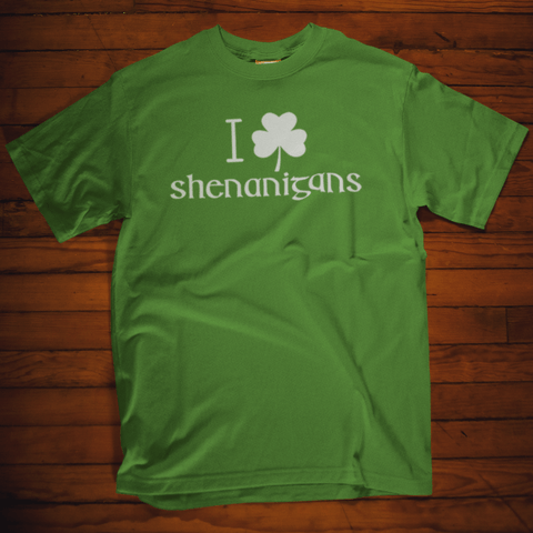 Lucky With Clover St Patrick's Day T Shirt