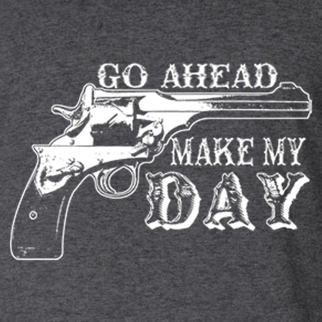 Go Ahead Make My Day T Shirt by Calico Ink