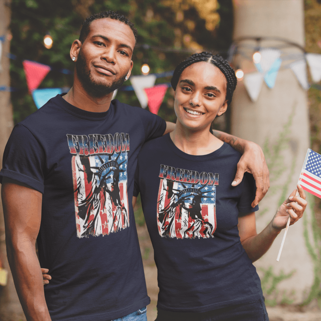 Liberty Freedom T Shirt By Calico Ink